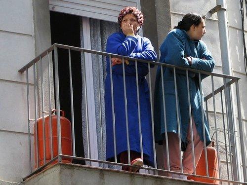 Bellpuig en el balcón