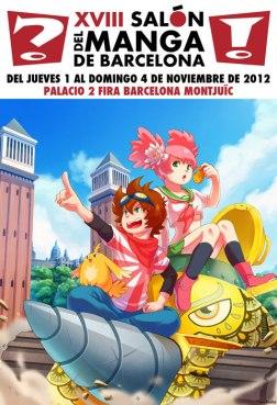 cartel_XVIII_Salón_del_Manga_Castellano