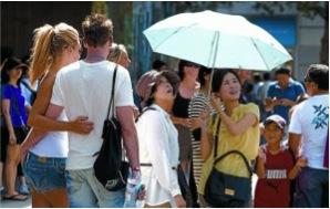 Turistes xinesos