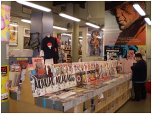 Tiendas especializadas en venta de Manga y merchandising.