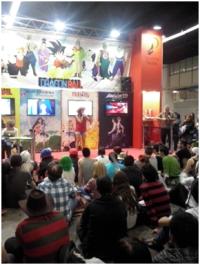 Presentaciones y karaoke de la serie Bola de Dragón.