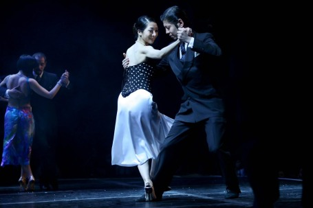Hiroshi y Kyoko Yamao, ganadores 2009 Campeonato Mundial de baile Tango (Tango Salón) en Argentina, Buenos Aires.