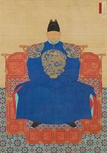 Retrato de TaejoYi Seong-gye