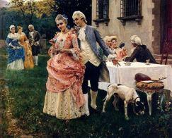 Afternoon Tea es va convertir en un elegant esdeveniment social. Font: About.com