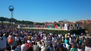 Fotografía 1: Holi en Sabadell antes del lanzamiento de colores.